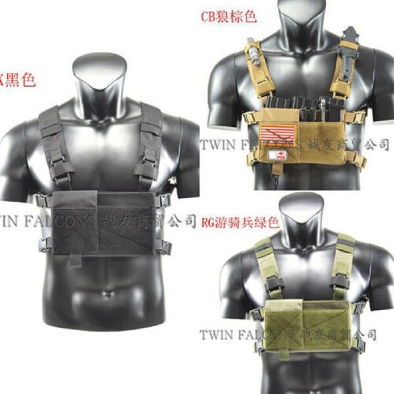 TW Tactische MK3 standaard versie CHASSIS Modulaire Borst Rig Training Vest