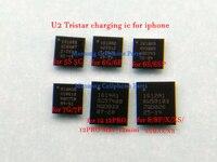 Tristar ic de carga USB para iphone, 5S, 6plus, 6s, 6sp, 7, 7plus, 8, 8P, X, XS, Max, 11/pro, 1610A1, 1610A2, 1610A3, 610A3B, 1612A1, U2, 10 Uds.