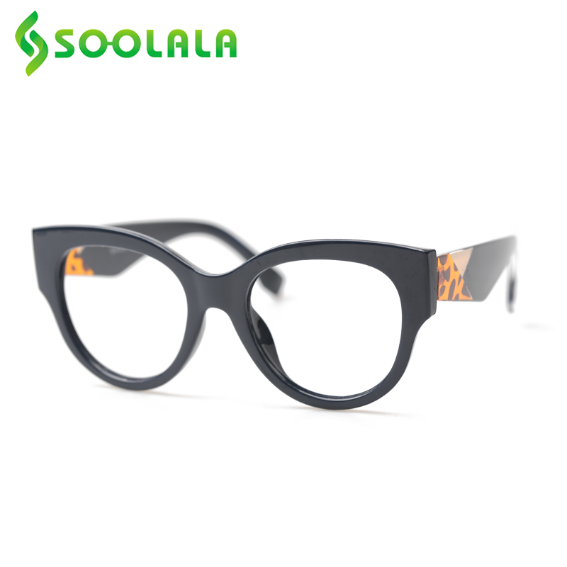 SOOLALA Reading Glasses Women Men New Arrival Full Frame Multicolor Pattern Legs Large Prescription Reading Glasses +0.5 To 4.0