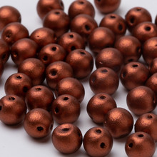 Taidian-Cuentas redondas de estilo clásico RovnDuo, abalorios de 5mm, Hechas A Mano, estilo clásico, 3/5 gramos por bolsa