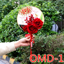 Casamento nupcial acessórios segurando flores 3303 omd