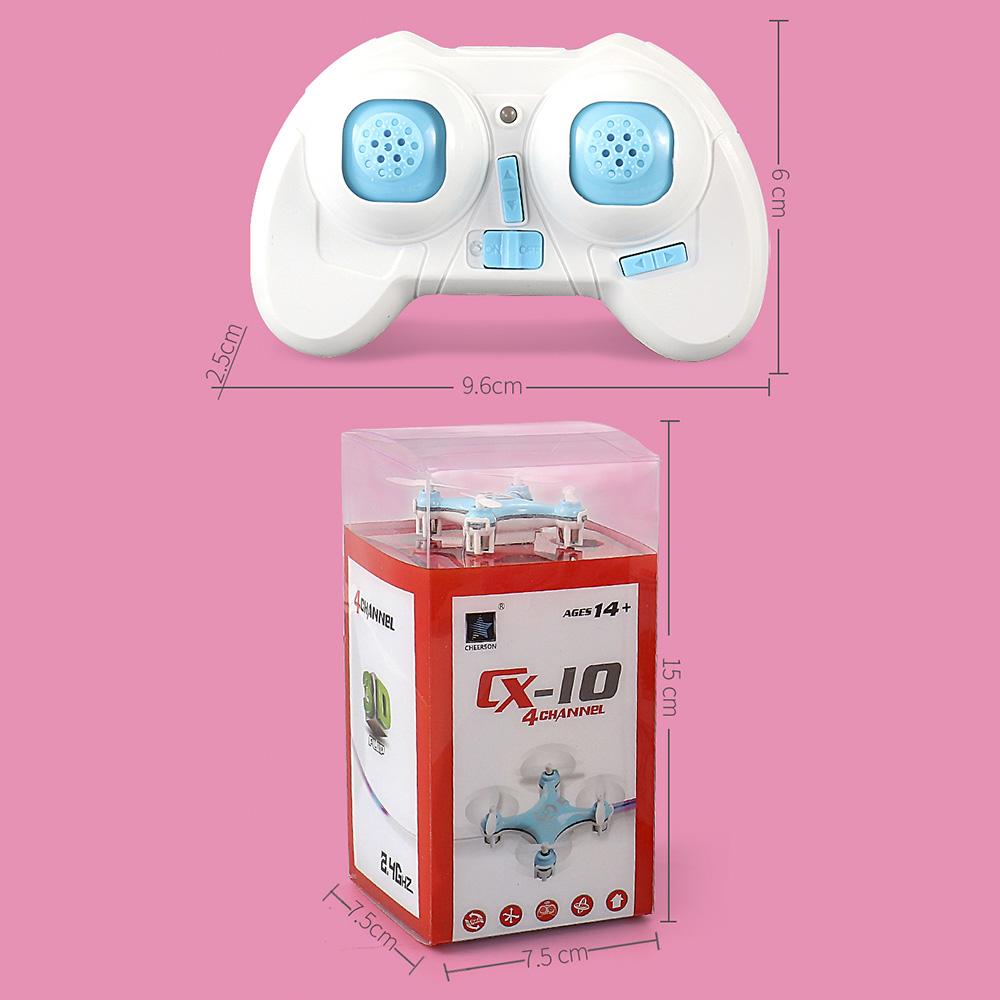 H3a0a2b1d8cd2434796af779ac1607008y - Original Cheerson CX10 CX-10 CX10 Mini Drone 2.4G 4CH 6 Axis LED Remote Control Quadcopter Toy CX10 CX-10 Mini Drone