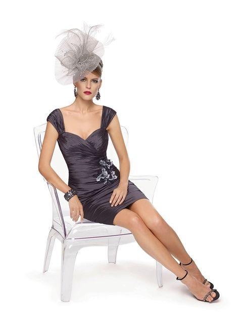 Free Shipping Robe De Soiree 2016 New Fashion Vestido De Festa Longo Femininos Short Taffeta Mother Of The Bride Lace Dresses