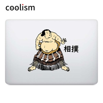 Japanese Sumo Hercules Laptop Sticker for Macbook Decal Pro Air Retina 11 12 13 14 15 inch Dell Mac Surface Book Notebook Skin