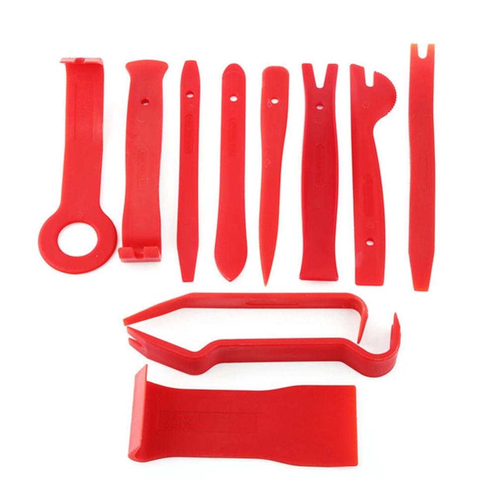 11pcs Plastic Pry Tool Trim Dashboard Door Clip Panel Removal Installer Opening Repair Tool For PC Phone Disassembly Set