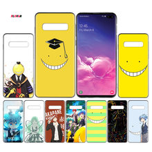 Ansatsu Kyoushitsu Black TPU Case Cover For Samsung Galaxy Note 8 9 10 10+ S8 S9 S10e Plus 5G A30 A50 A70 A30s A50s Coque(China)