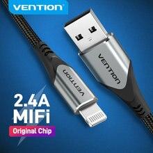 Mukavele MFi USB kablosu iPhone 12 Max 11 Xs X 8 artı USB şarj iPhone 12 Mini 2.4A hızlı şarj USB şarj veri kablosu