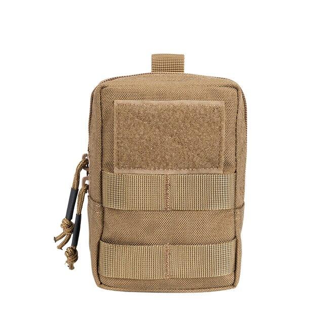 Tactique lampe de poche molle Pack utilitaire Fanny Pouch Taille Gilet Sac D/'Accessoires S