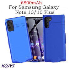 Portable Power Bank Battery Charger Cases For Samsung Galaxy Note 10 / 10 Plus Battery Case  Backup Battery Charging Cover