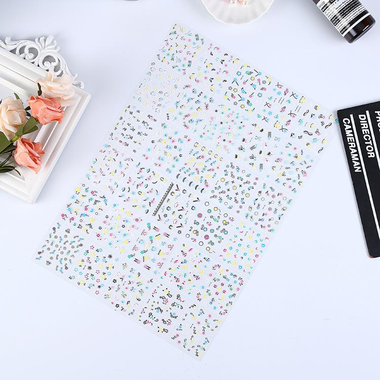 Случайный 30 листов/комплект 3d виниловые наклейки на стену