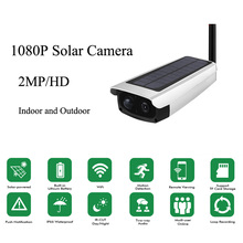 2MP 1080P  Waterproof Outdoor WIFI Wireless with 7800mA Solar Battery Power Surveillance Security CCTV Camera Video Recorder smartyiba waterproof solar power pir motion detecting outdoor security camera surveillance cctv camera video recorder tf card