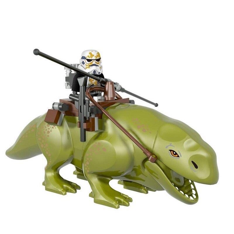 Star Wars Dewback Sandtroopers Desert Storm Soldier Troopers Figure Blocks Construction Building Bricks Toys For Children