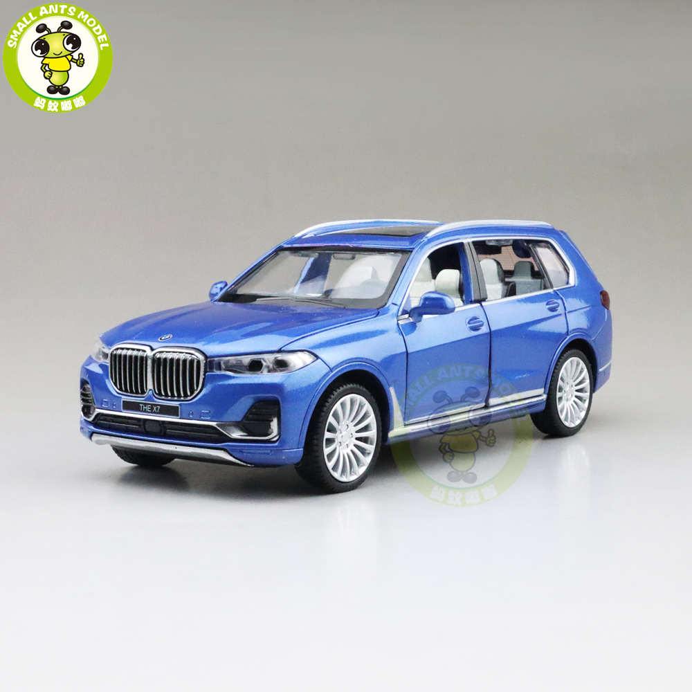 1/32 X7 G07 CAIPO MSZ SUV Diecast Model Toys Car Kids Pull Back Sound Lighting Boys Girls Gifts