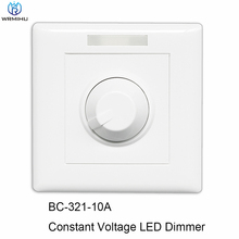 DC12V-DC24V BC-321-10A PWM Signal LED Dimmer Knob Style Manual Switch Constant Voltage Controller For LED Light Lamp