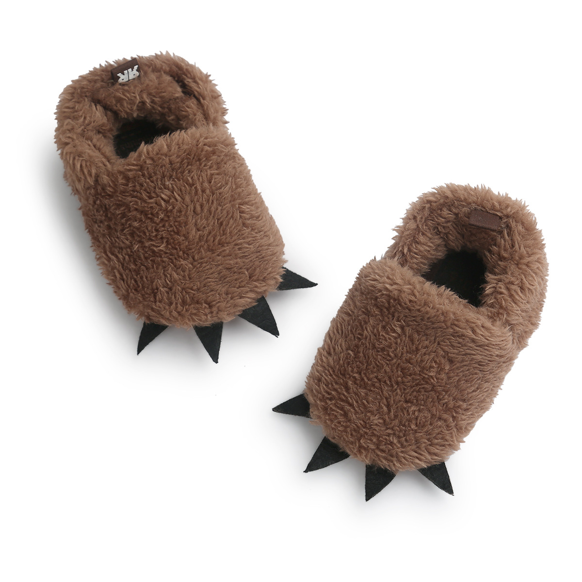 Newborn Baby  Plush  Paw  Toddler Paw  Shoes  Boy Girl Sheep Fleece Sole Pram Shoes  Crib Prewalker Baby