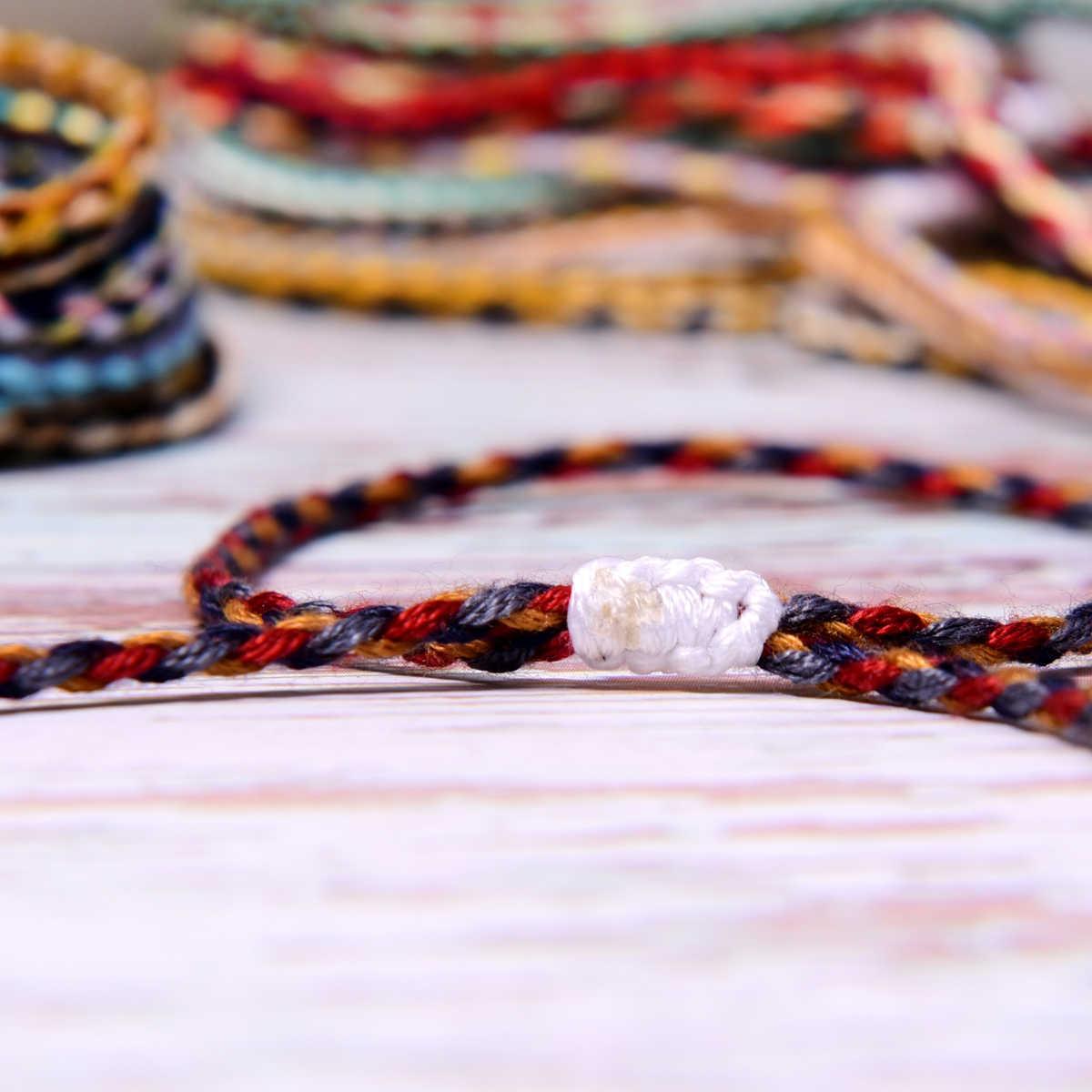Mặt Trăng Gái Handmade Tình Bạn Vòng Đeo Tay Cho Nữ Sang Trọng Thời Trang Nam Bọc Pulseras Femme Boho Cô Gái Vintage Trang Sức Dropshipping