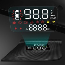Voor Toyota Land Cruiser J200 2010-2019 Spiegel Hud Auto Head Up Display Voorruit Projector Auto Alarm Overspeed Rpm spanning