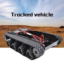 Rc Танк умный робот танк шасси автомобиля Комплект резиновый