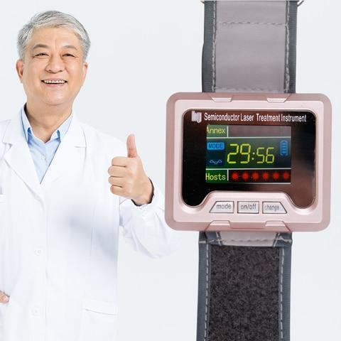 650nm diodo terapia laser relogio lllt