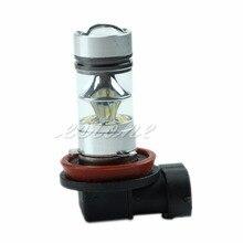 360 Degrees 6000K H11 100W LED 20-SMD Projector Fog Driving DRL Light Bulb Useful цены