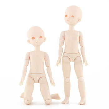 New 28cm BJD Doll Giant Nude Baby 1/6 Open Eye 22 Joint Voxel Head Change Makeup Doll Accessories DIY Kids Toys for Girls Gift marvel universe hero pa change peter jackson s king wolf joint diy do model doll goods of for display rather for toys gift