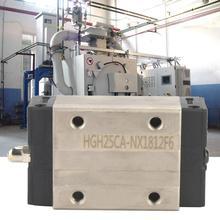 цена на 2Pcs/set HGH25CA Mini Linear Motion Guide Rail Block Slider Bearing Steel Sliding Blocks