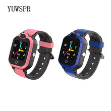 Kids GPS Tracker 4G Smart Watch IP67 Waterproof bluetooth Video Call camera GPS LBS WIFI Location Children smart clock LT05(China)