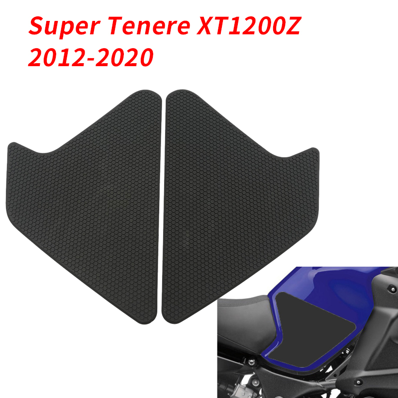 Motorcycle Tank Traction Pad Grips Rubber Gas Tank Decals Knee Protector for Yamaha Super Tenere XT1200Z 2012-2020 enlarge