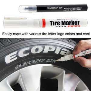 Marking-Marker-Pen Tire Multipurpose for Automobile And Motorcycle Wholesale White Permanent-Tire