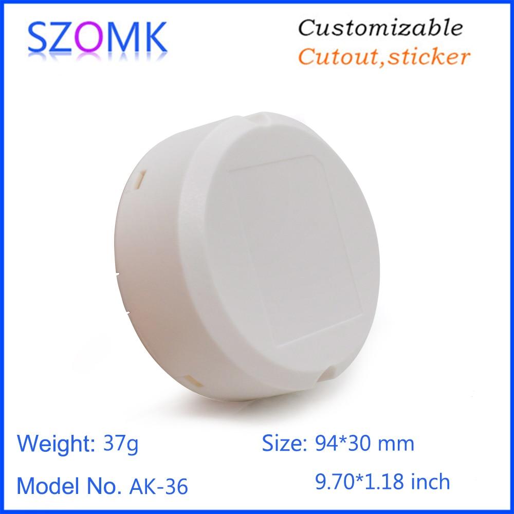 SZOMK power supply led driver plastic enclosure for electronics junction box instrument housing (10)