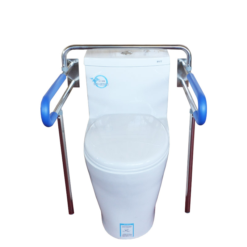 Медицинский Профессиональный Туалет высота 77,5 см Нескользящие поручни нагрузка 100 кг из нержавеющей стали для беременных женщин