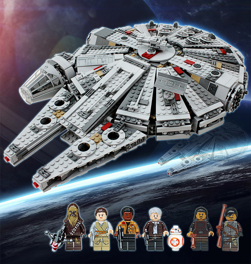 Star Wars New Millennium Falcon 79211 Ultimate Collector S Model Building Block