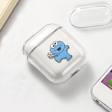 цена на Cute Pattern Hard Plastic Case For Air Pods  Headphone Cover For Apple Airpods PC Case Portable Protective Earphone Accessories