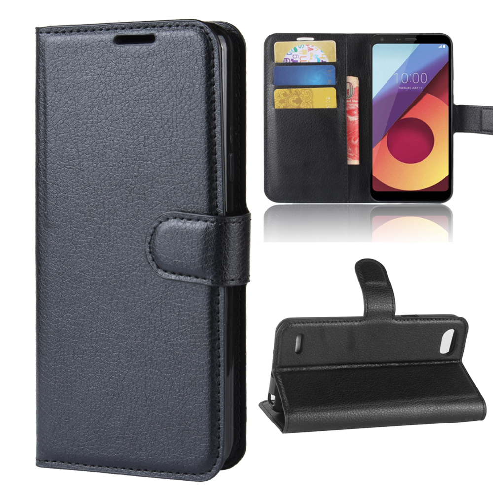 Wallet Cover Card Holder Phone Cases For LG Q6 Q6+Plus M700 5.5\