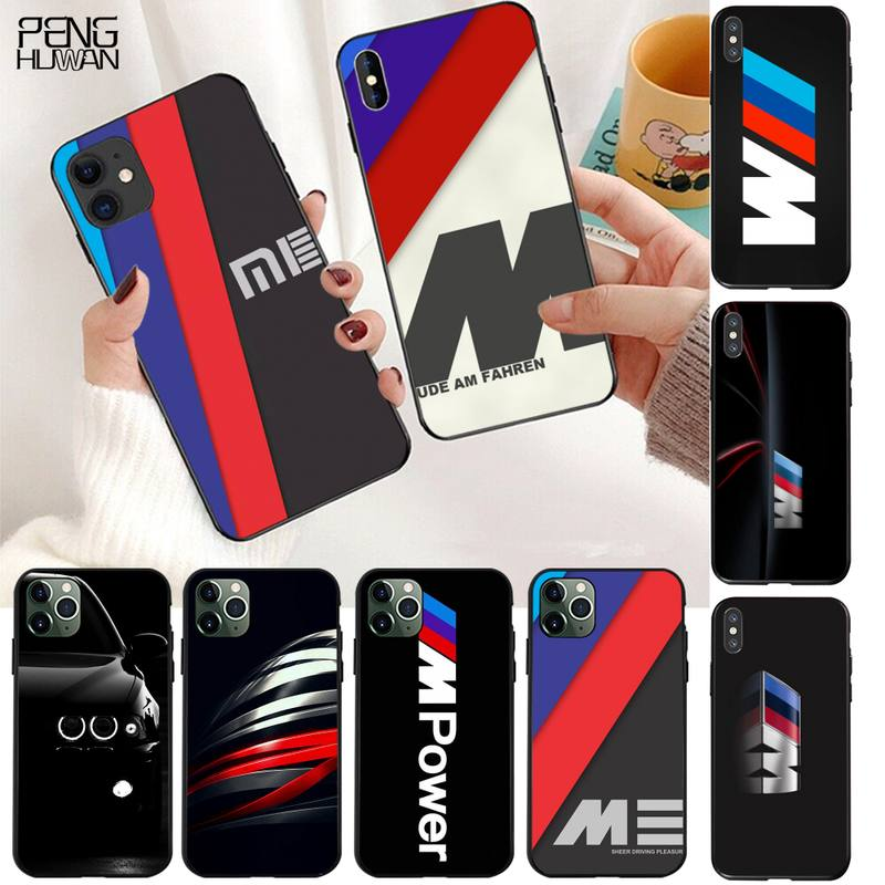 YJZFDYRM Hot Car BMW Logo Soft Phone Case Capa for iPhone 11 pro XS MAX 8 7 6 6S Plus X 5S SE 2020 XR case image