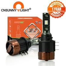 CNSUNNYLIGHT H15 LED Xi Nhan Canbus Ngày Làm Đèn Pha Xe Hơi 12000Lm DRL Dành Cho Xe Mazda/BMW/Mercedes GLK/A180/Audi Q7 A6 A3/Golf 6 7