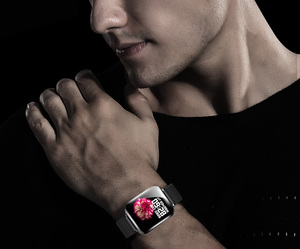 Image 5 - COXANG b57 חכם שעון עם לחץ מדידת קצב לב צג b57 Smartwatch עמיד למים מד צעדים חכם שעון ladie/גברים