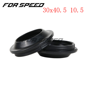 Image 2 - 30*40.5 30x40.5 10.5 Double Spring Motorcycle Rubber Gasket Front Fork Damper Oil Seal Dust Cover DC For YAMAHA BWS100 4VP
