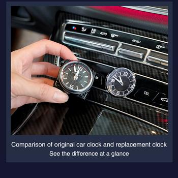 Zegar samochodowy pasuje do Mercedes Benz W205 W213 GLC auto moda zegarek samochodowy mechanizm kwarcowy zegarek zegarowy wymień wyświetlacz czasu tanie i dobre opinie CN (pochodzenie) quartz WI3613-WI3615 time display 0 2KG 10cm China front 15cm 3 colors Car clock for Mercedes Benz W205 W213 GLC