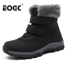 Women Boots Waterproof Winter Shoes Women Snow Boots Platform Keep Warm Mid-Calf Winter Boots With Fur Heels Botas Mujer цена