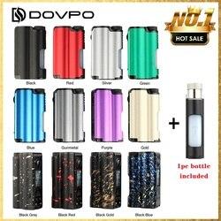 الأصلي DOVPO Topside 90 واط العلوي ملء TC Squonk وزارة الدفاع مع 10 مللي زجاجة كبيرة Squonk و 0.96 بوصة شاشة OLED VS السحب صندوق سجائر إلكترونية