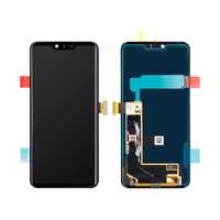 Original LCD Display Touch Screen Digitizer Glass Assembly with Frame For LG G8 ThinQ G820QM G820V G820N G820UM LCD