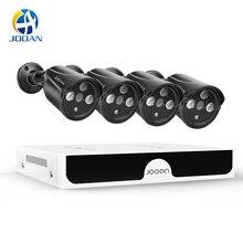 Videovigilancia H.265 8CH 4MP POE sistema de cámaras de seguridad Kit Video grabación IP Cámara IR al aire libre impermeable CCTV conjunto NVR