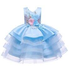 2020 сарафан платье для девочки;вышивка платья для девочек;детские платья;нарядное платье для девочки;принцессы пышное платье для девочки;де...