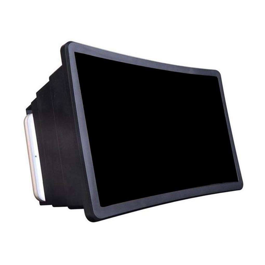 elenxs Mobile Phone Gadget 3D Screen Magnifier Video Enlarge Stand Holder Foldable Phone Screen Amplifier Case