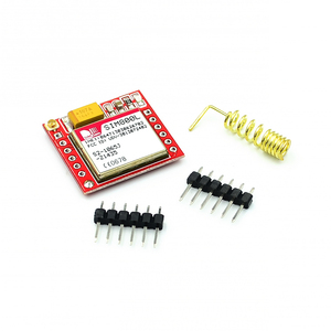 Image 1 - 100pcs gsm מודול הקטן ביותר SIM800L GPRS GSM מודול MicroSIM כרטיס Core לוח Quad band TTL יציאה טורית עבור arduino