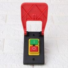 Pulsador electromagnético interruptor Paddle SwitchVoltage protección sierras de mesa venta al por mayor dropshipping. Exclusivo.