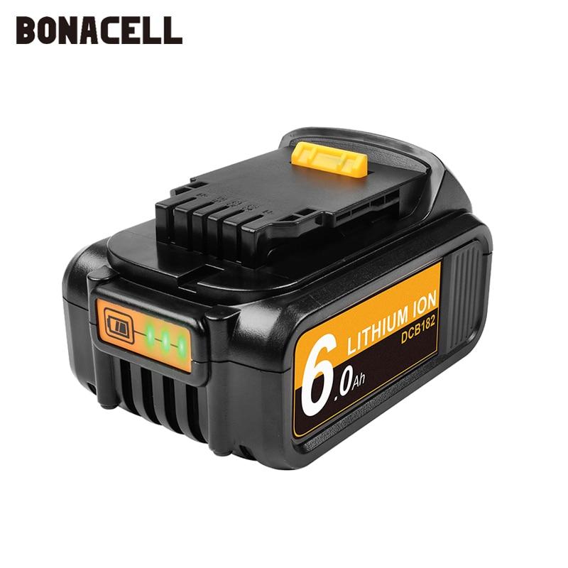Сменный аккумулятор для электроинструмента DeWalt DCB184 DCB181 DCB182 DCB200 20 в 5 А 18 в 18 в L50