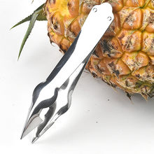 Stainless Steel Convenient Seed Remover Pineapple Eye Peeler Stainless Steel Cutter Kitchen Tools for Kitchen Camping Cookhouse(China)