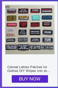 Черно-белые вышитые нашивки с английским алфавитом для одежды, сделай сам, полоски, написанные слова, наклейки, буквы для одежды, железные значки@ B